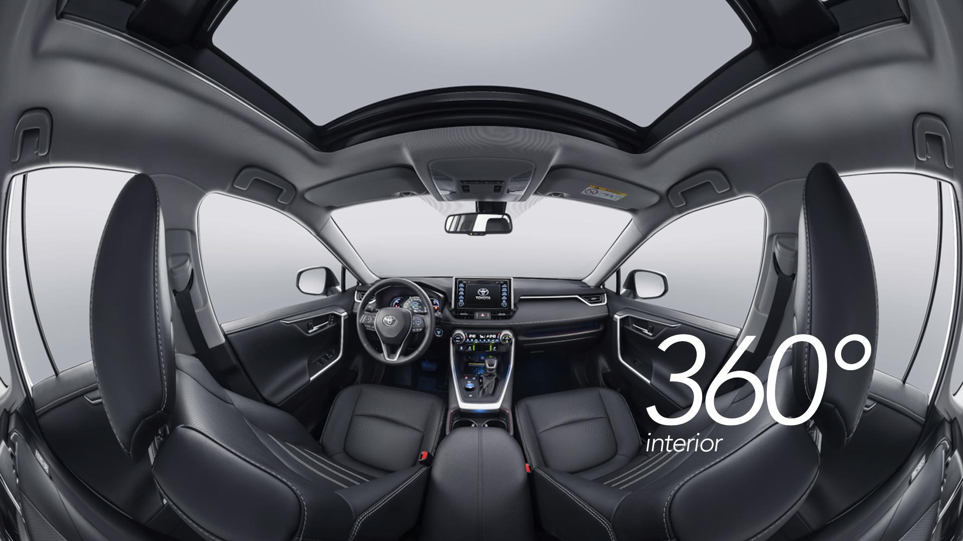 360° Interior RAV 4