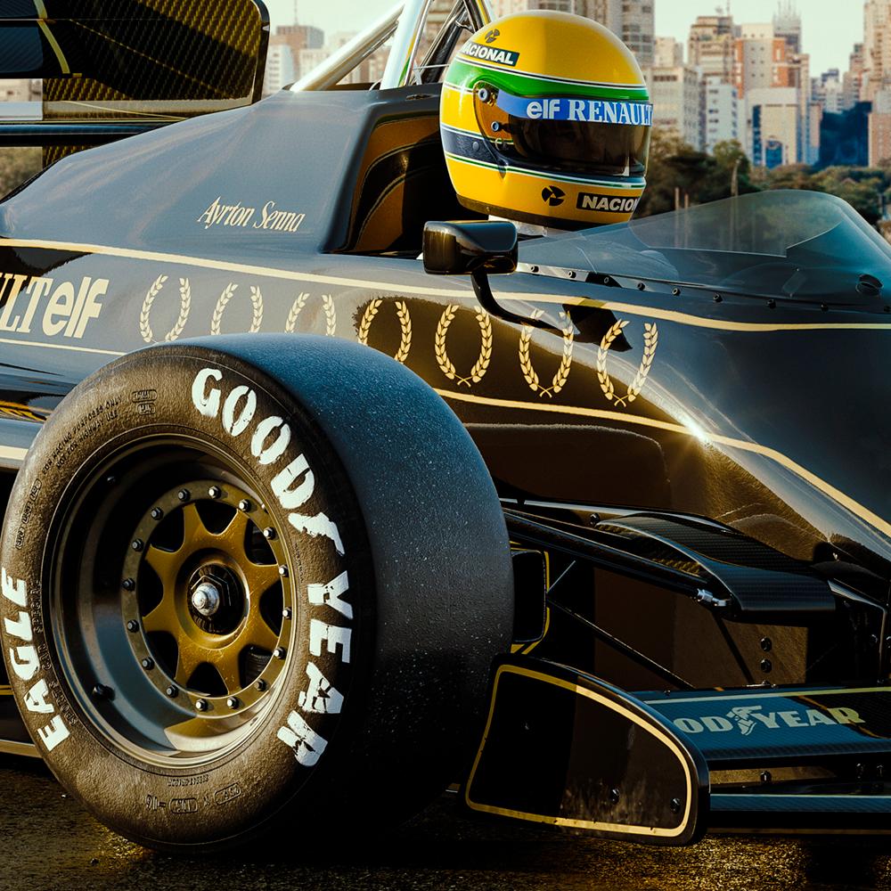 Senna Lotus