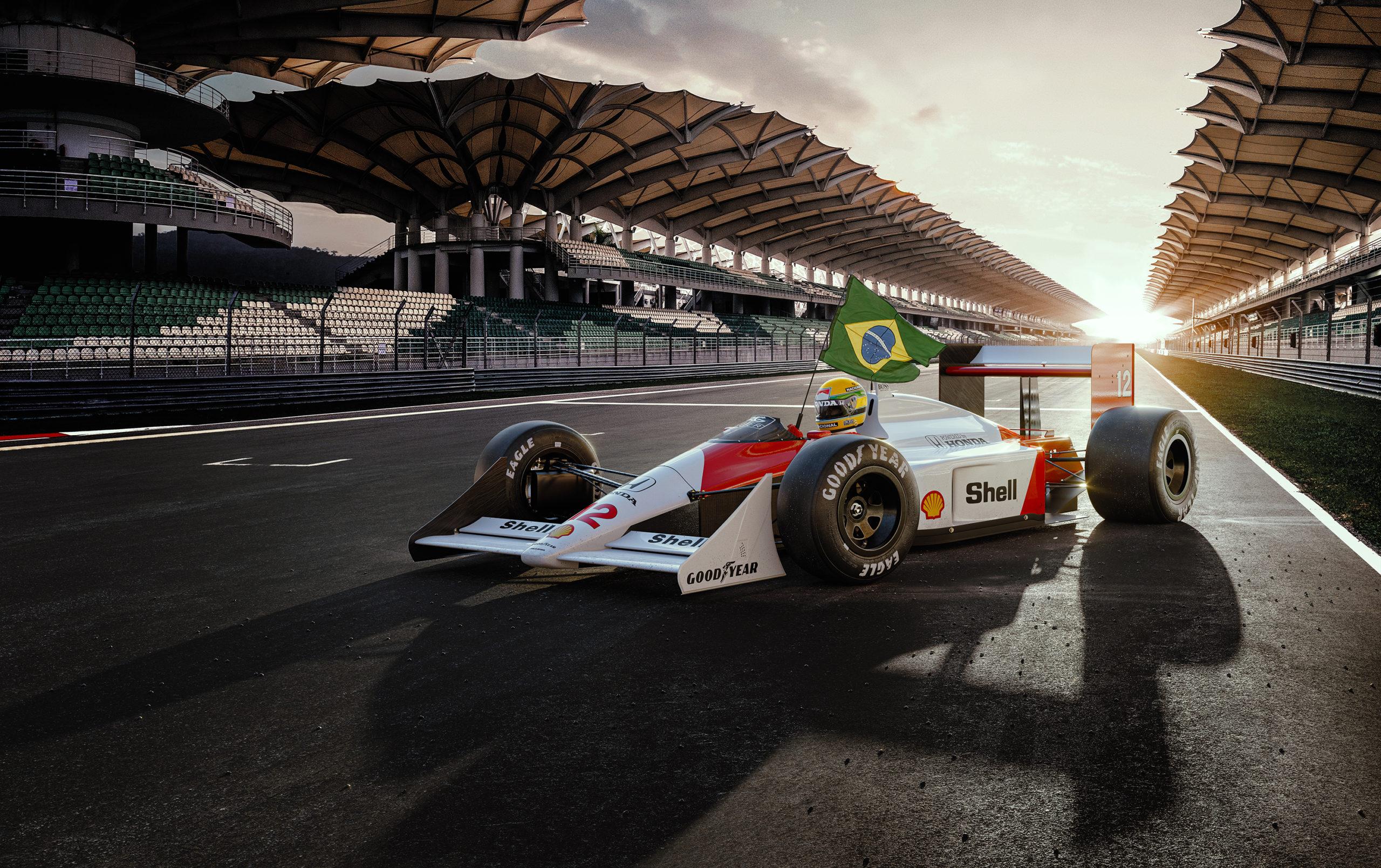 KV Senna Mclaren