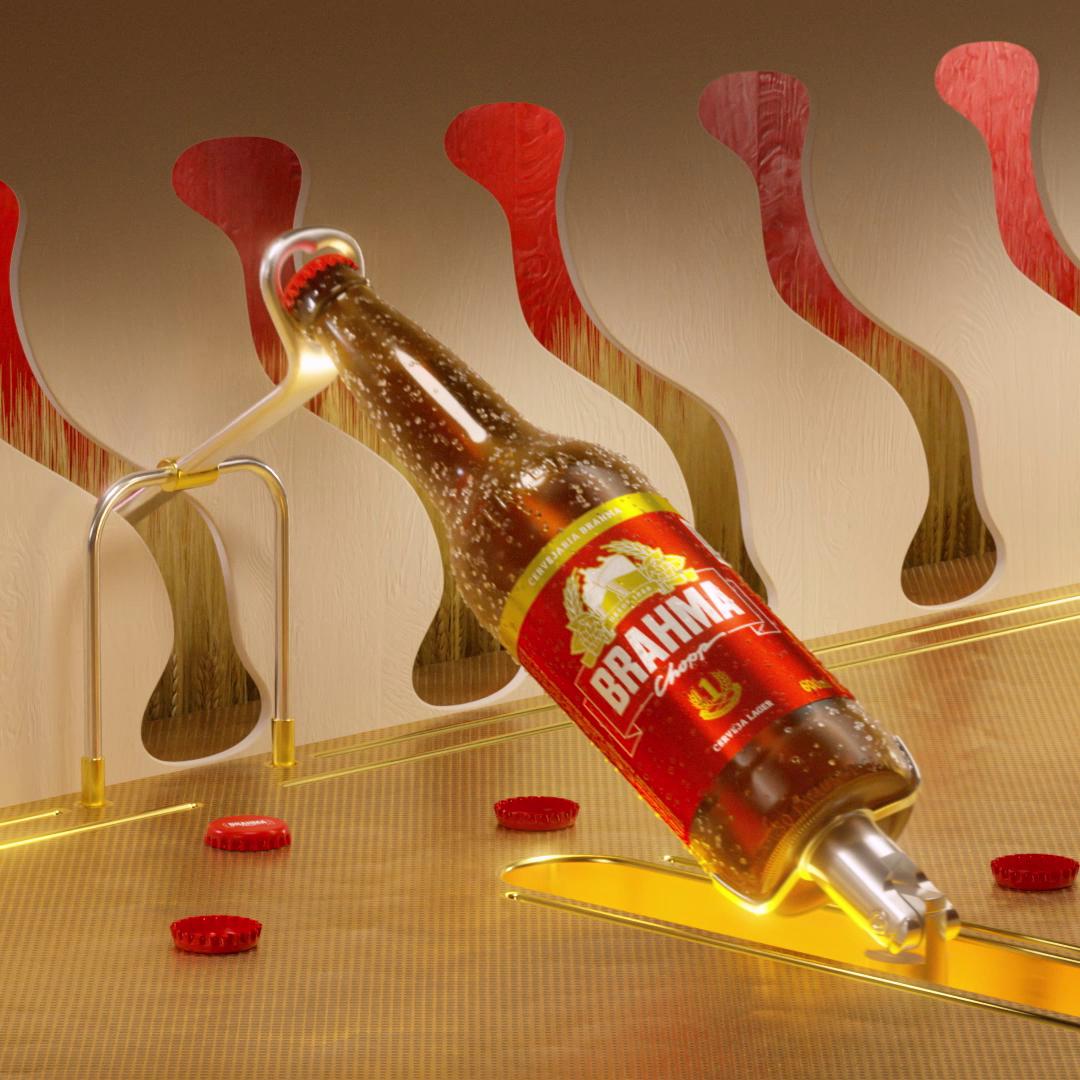 Destampando - Cervejaria Brahma