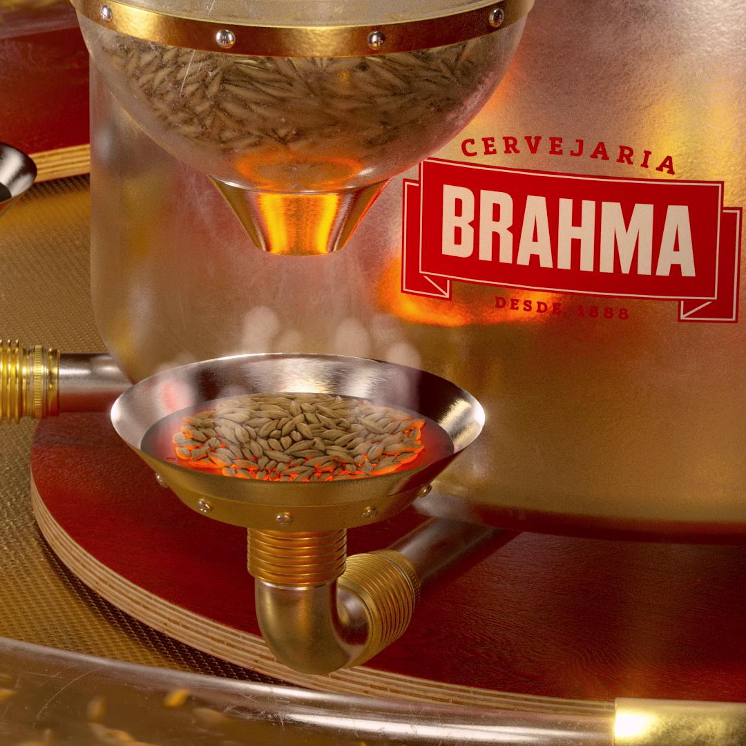 Malte- Cervejaria Brahma