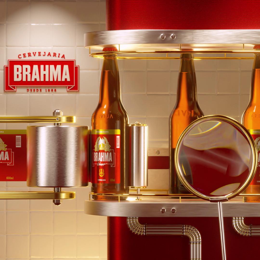 Rotulando - Cervejaria Brahma